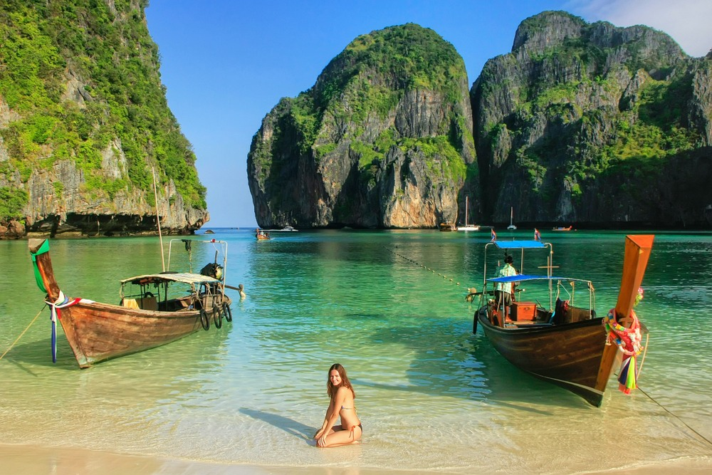 Maya Bay, Koh Phi Phi, Thaïlande