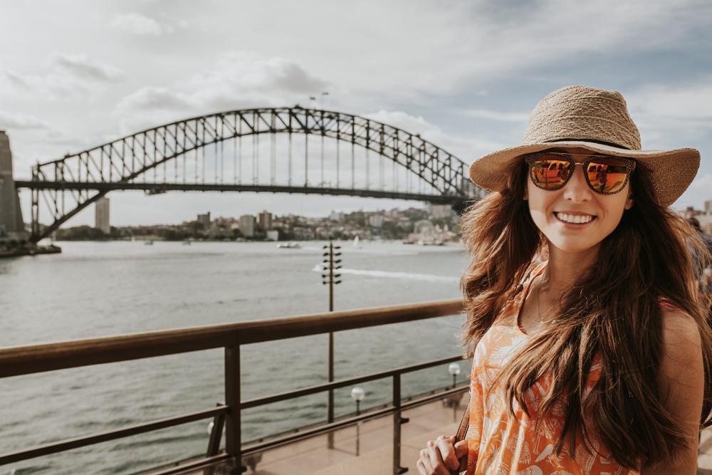 Le Harbour Bridge, Sydney, Australie
