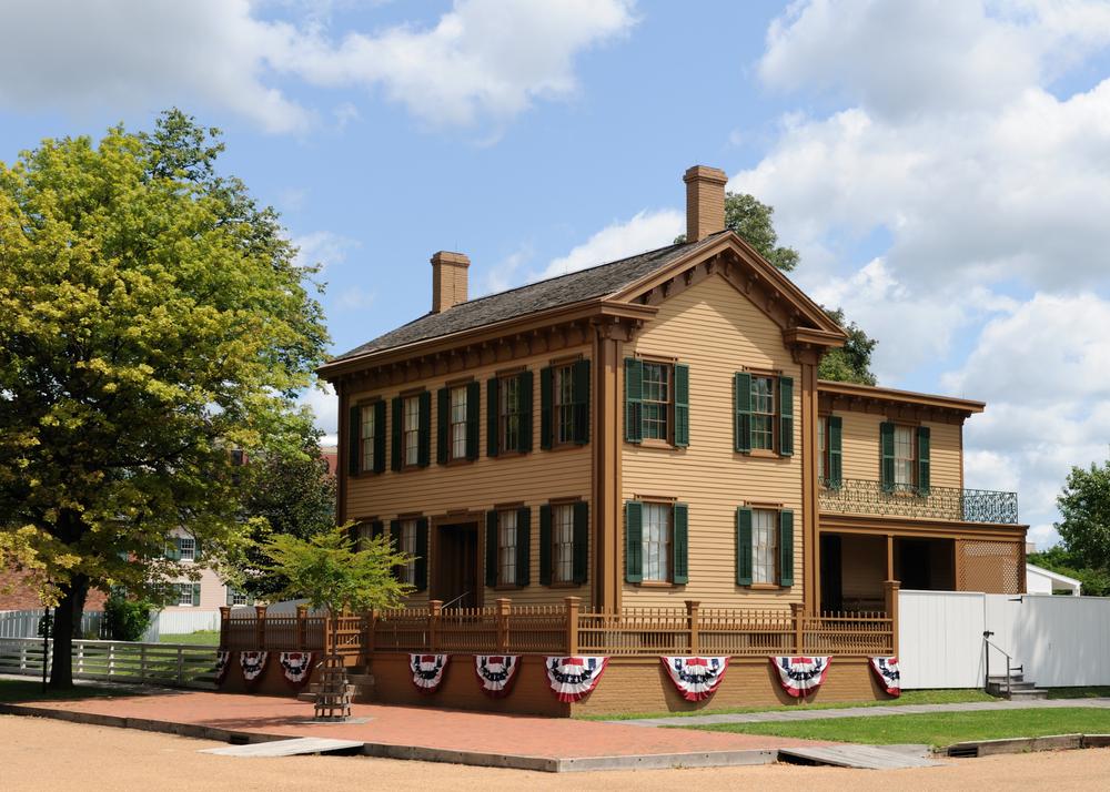Maison d'Abraham Lincoln à Springfield, Illinois