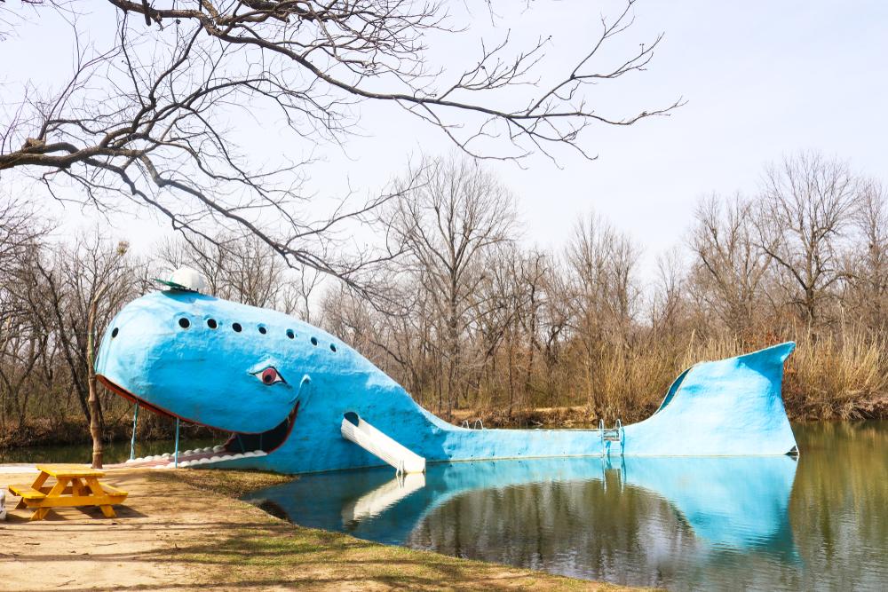 La Baleine Bleue de Catoosa, Oklahoma