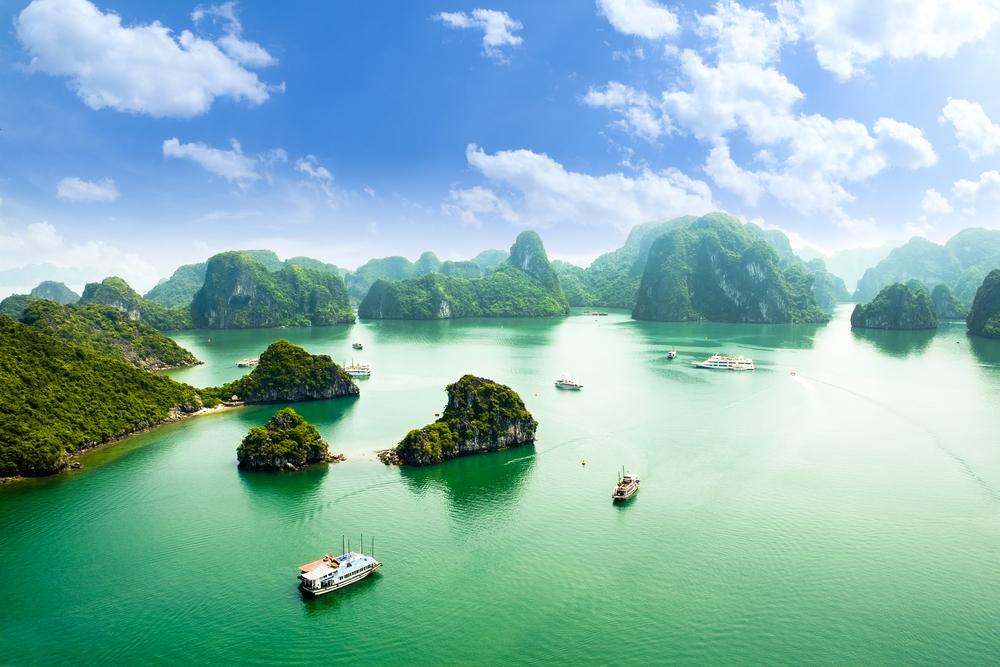 Baie d'Halong, Viêtnam