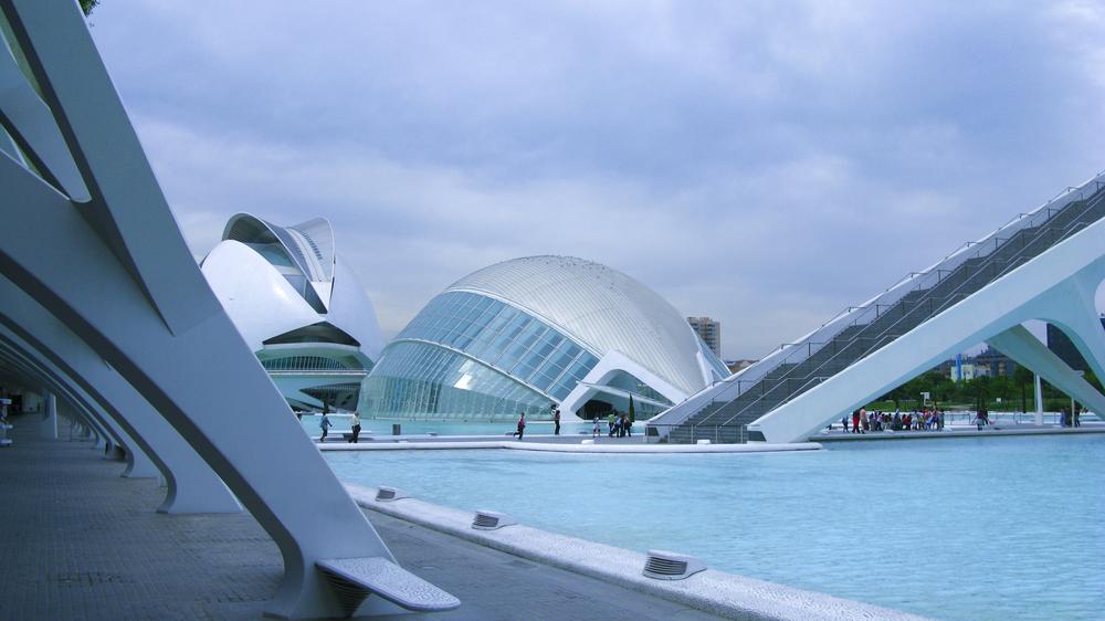 La Cité des Arts et des Sciences de Valence, Espagne