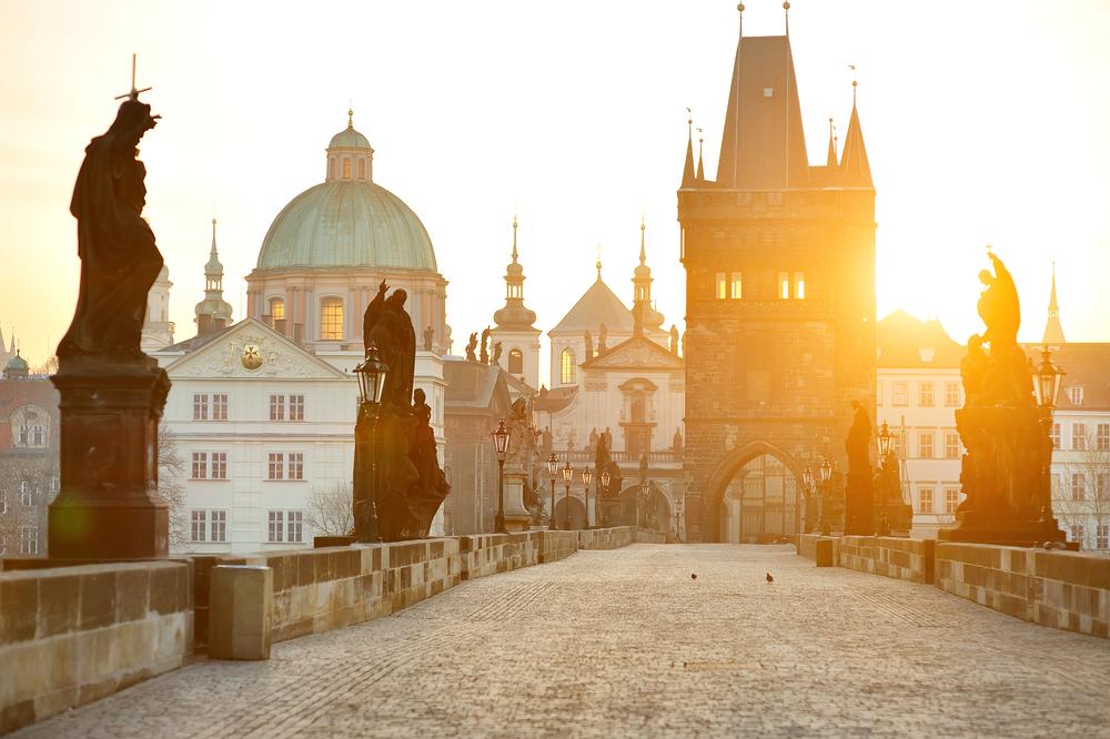 Le pont Charles, Prague, République Tchèque