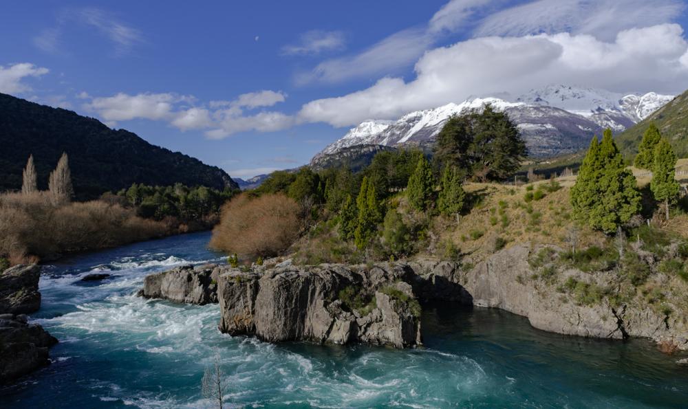 La rivière Futaleufú- Patagonie, Chili - Argentine