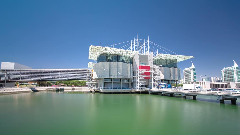 L'Oceanarium de Lisbonne au Portugal