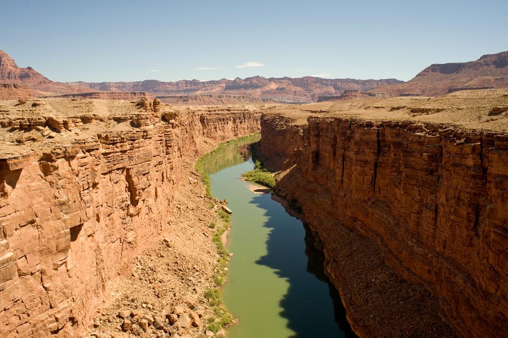 Le fleuve du Colorado, Etats-Unis