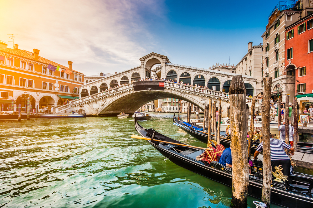 Le pont du Rialto, Venise, Italie