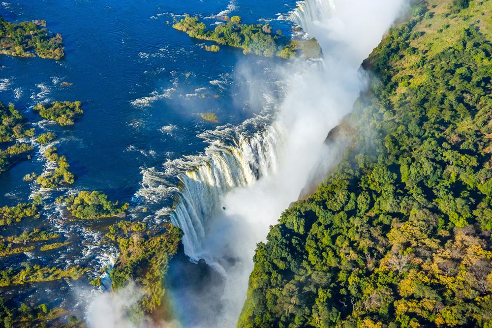 Le fleuve Zambèze, Afrique