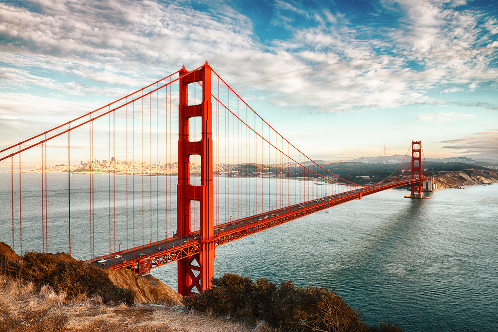 Le Golden Gate, San Francisco, États-Unis