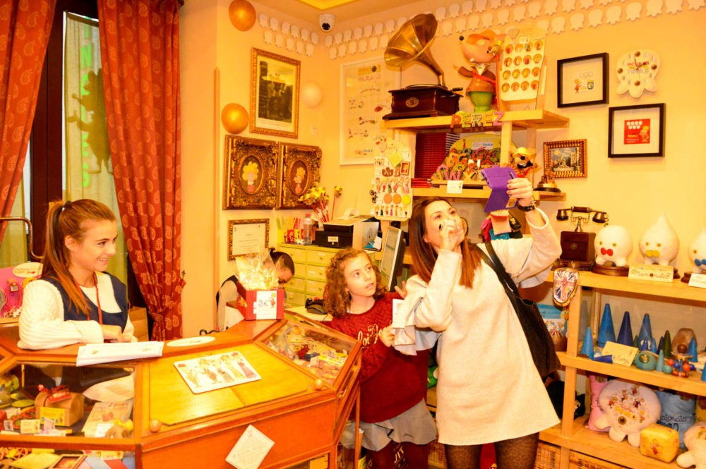 Le Musée de la petite souris appelée Ratoncito Pérez à Madrid en Espagne