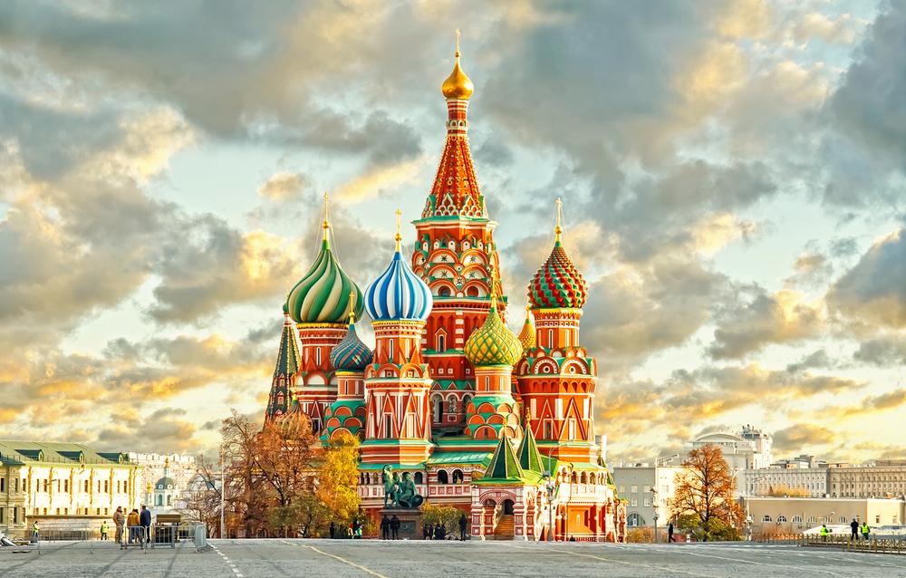 La Cathédrale Saint-Basile (Moscou, Russie)