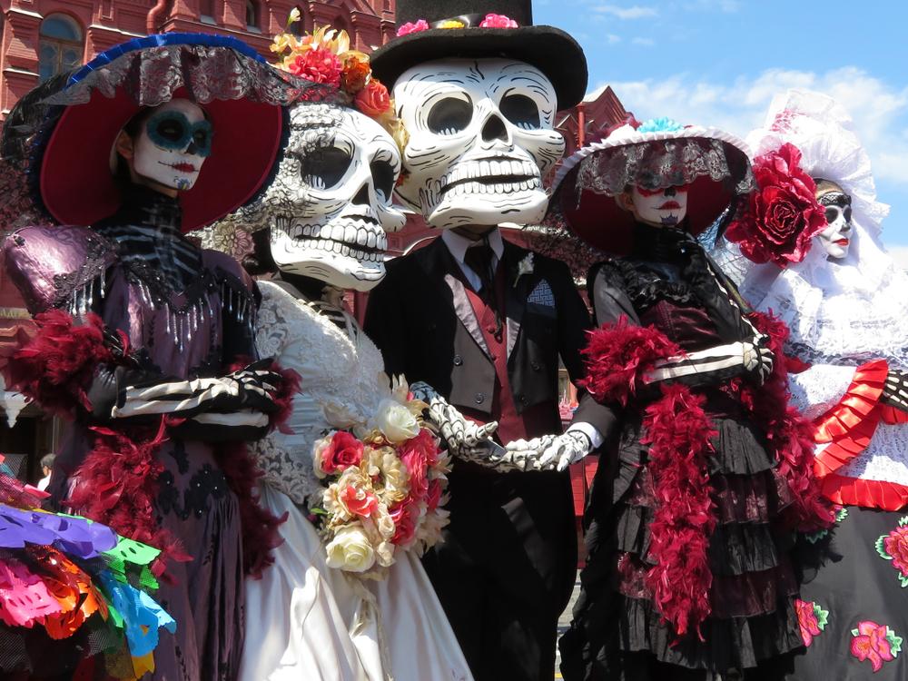 Célébration des morts au Mexique