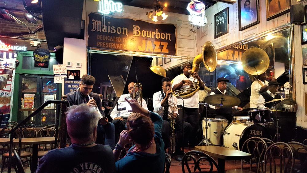 Concert à la Maison Bourbon, Nouvelles Orléans, États-Unis