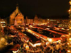 Marché de Noël à Nuremberg