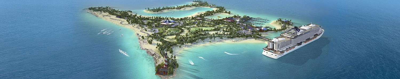 Ocean Cay, île privée MSC Croisières