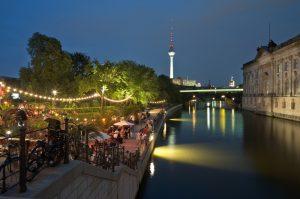 Restaurants à Berlin à côté de la rivière Sprée