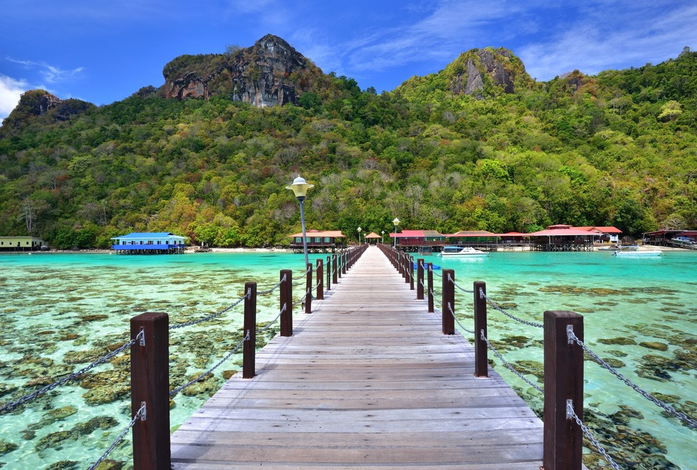 Bohey Dulang, Borneo