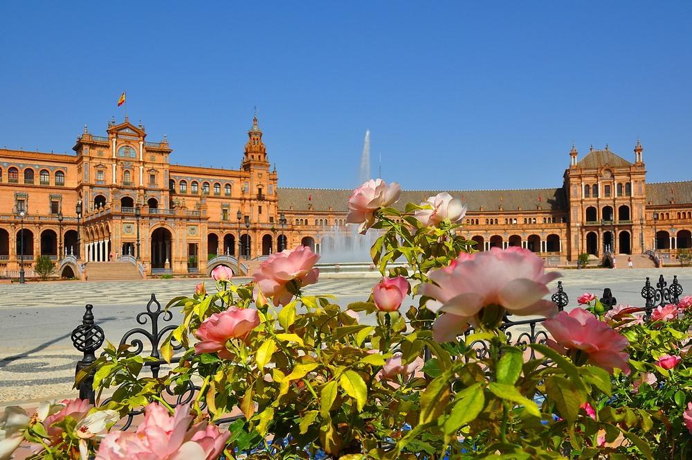 Place d'Espagne, Séville, Espagne