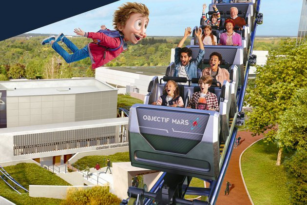 Destination Mars : la nouvelle attraction star du Futuroscope !