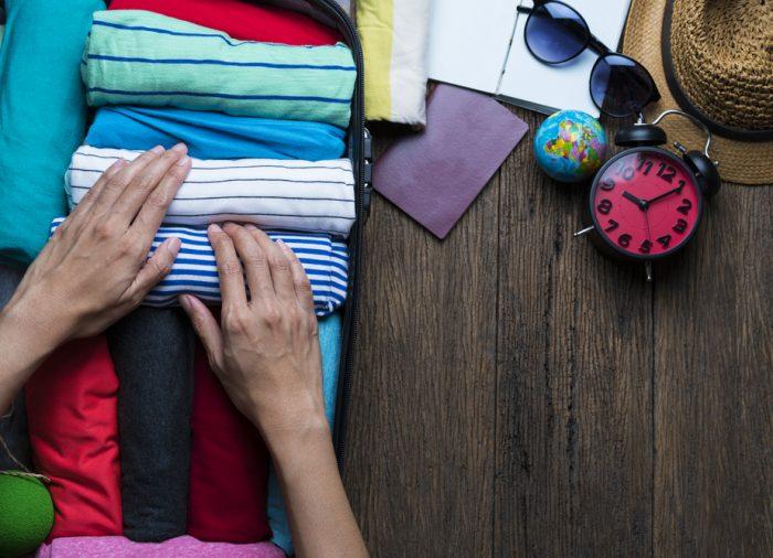 5 astuces pour faire votre valise